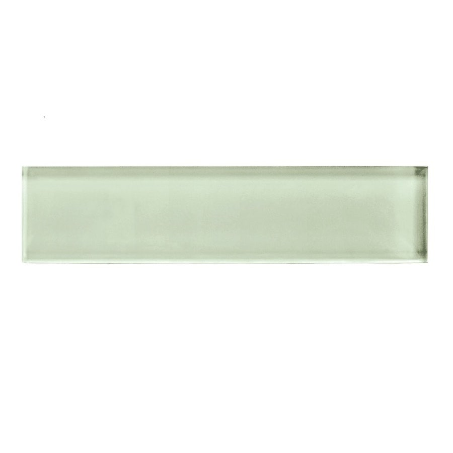 American Olean Color Appeal Celedon Glass Wall Tile (Common: 2-in x 8-in; Actual: 1.87-in x 7.87-in)