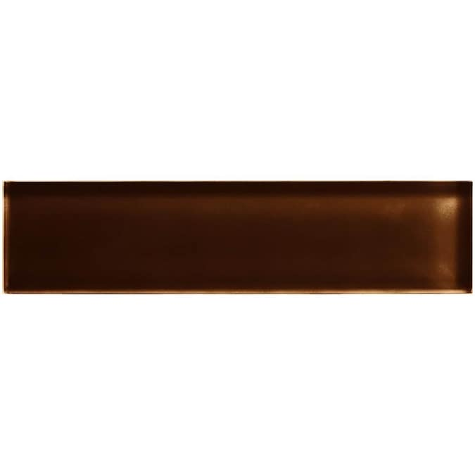 American Olean Color Appeal 60 Pack Copper Brown 2 In X 8