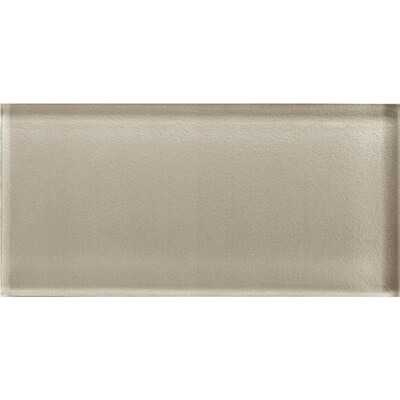 Color Eal Oxford Tan 3 In X 6 Gl Subway Tile Common Actual 5 87 2