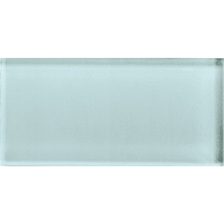American Olean Color Appeal Moonlight Glass Wall Tile (Common: 3-in x 6-in; Actual: 2.87-in x 5.87-in)