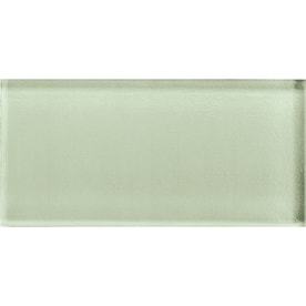 American Olean Color Eal Celedon Gl Subway Tile Common 3 In X 6