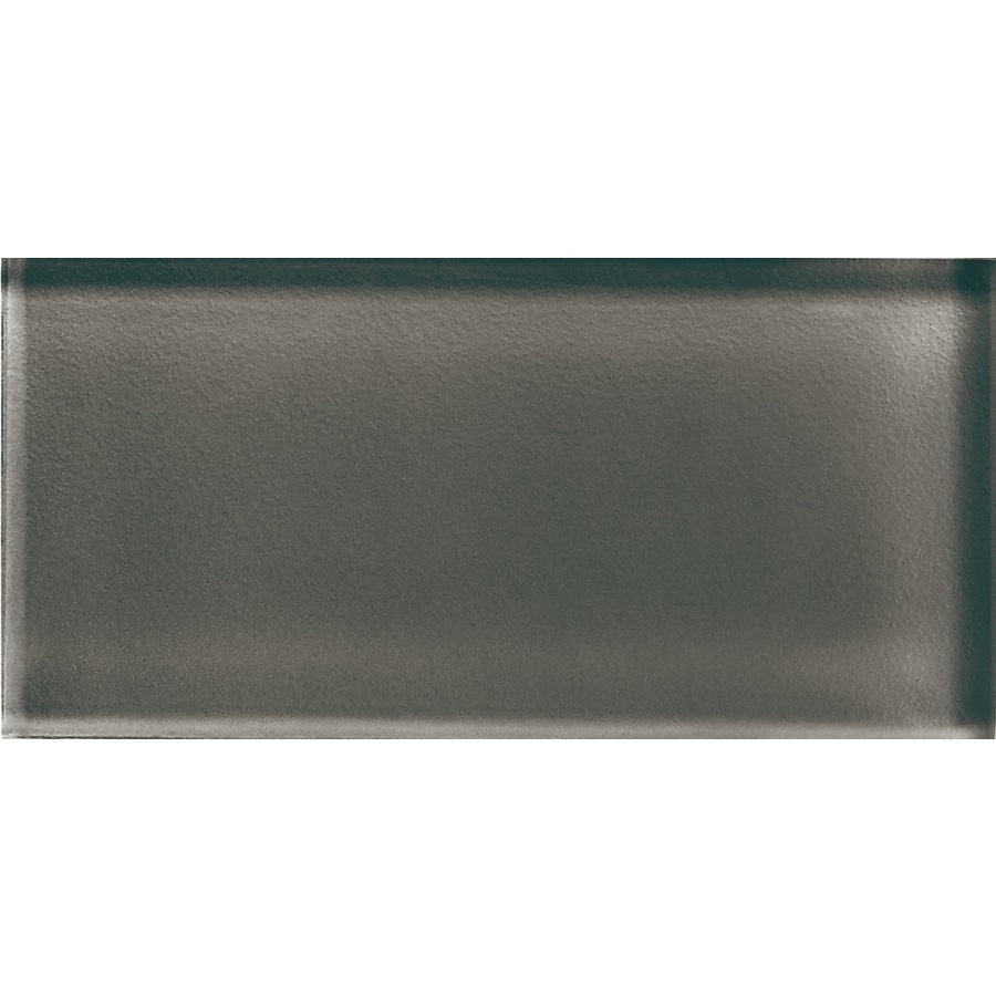 American Olean Color Appeal Mink Glass Wall Tile (Common: 3-in x 6-in; Actual: 2.87-in x 5.87-in)