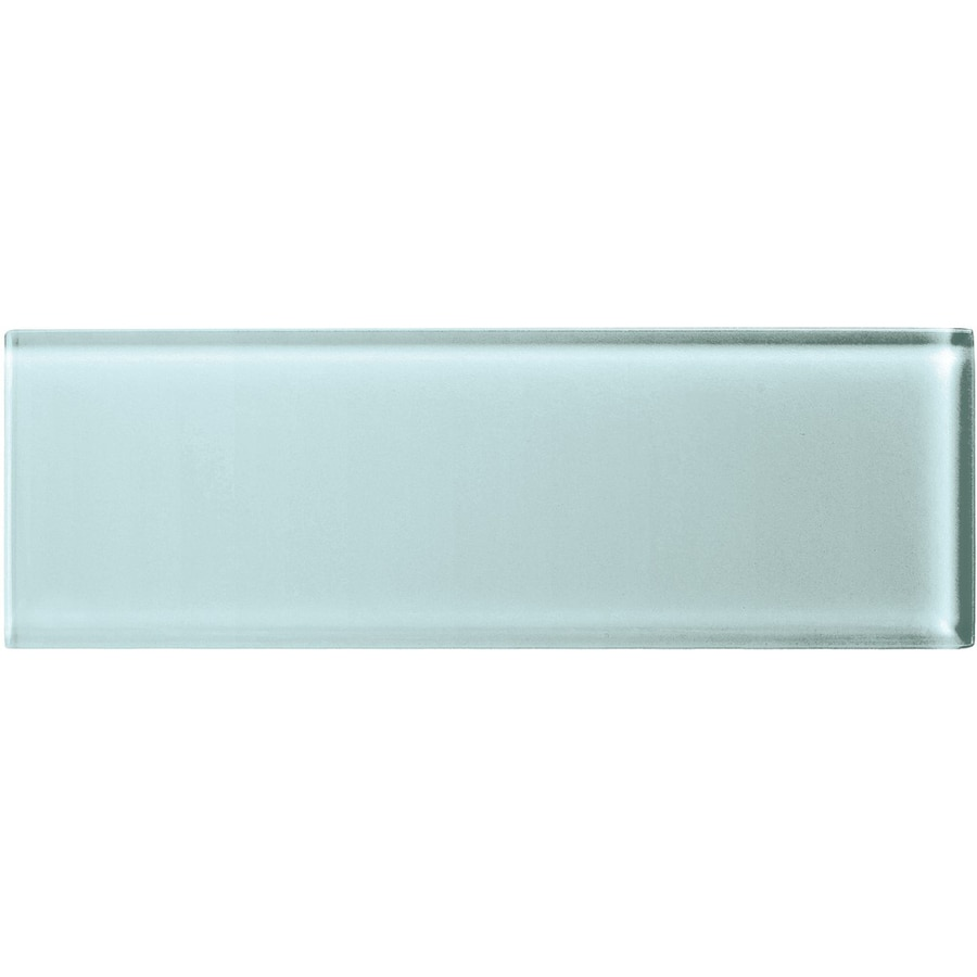 American Olean Color Appeal Moonlight Glass Wall Tile (Common: 4-in x 12-in; Actual: 3.87-in x 11.75-in)