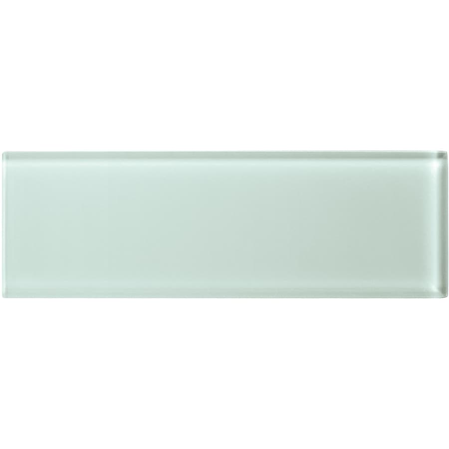 American Olean Color Appeal Vintage Mint Glass Wall Tile (Common: 4-in x 12-in; Actual: 3.87-in x 11.75-in)