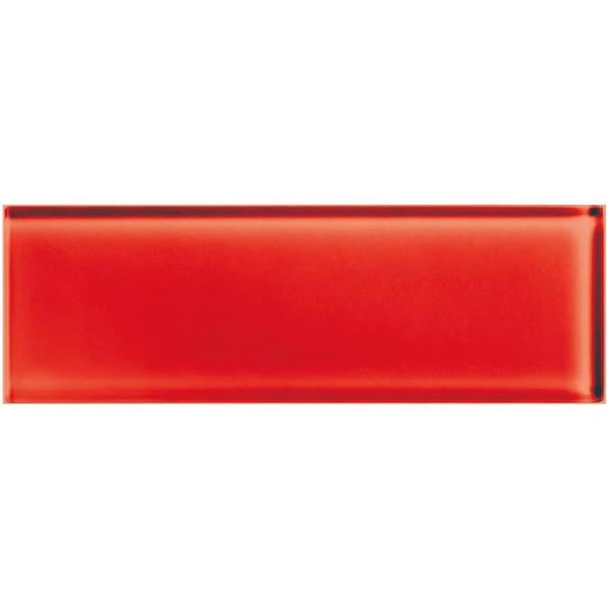 American Olean Color Appeal 20 Pack Cherry 4 In X 12 In