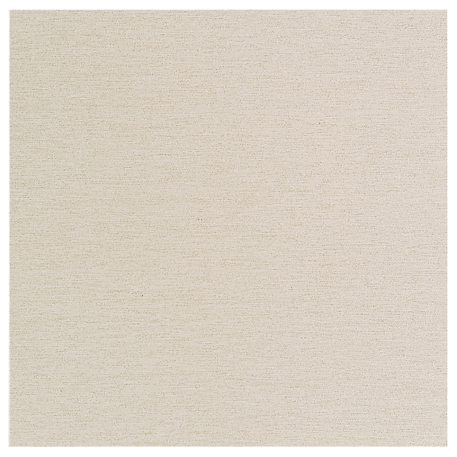 American Olean St Germain 4-Pack Creme Thru Body Porcelain Floor and Wall Tile (Common: 24-in x 24-in; Actual: 24-in x 24-in)