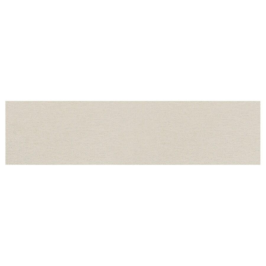 American Olean St Germain 11-Pack Blanc Thru Body Porcelain Floor and Wall Tile (Common: 6-in x 24-in; Actual: 23.43-in x 5.75-in)