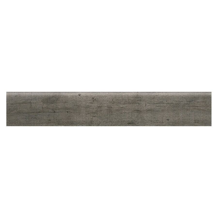 American Olean Historic Bridge Old Forge 3-in x 18-in Glazed Porcelain Bullnose Tile