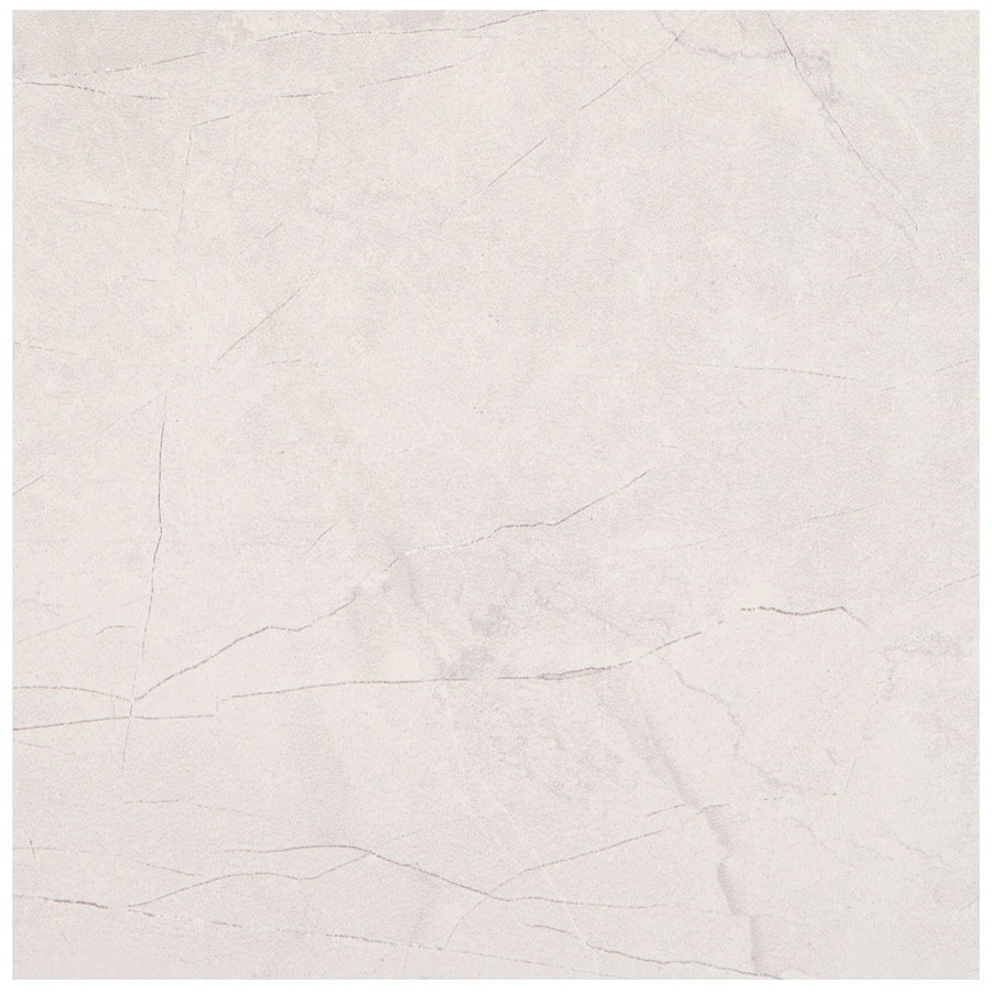 American Olean Bevalo 8-Pack Dove Porcelain Floor and Wall Tile (Common: 18-in x 18-in; Actual: 17.75-in x 17.75-in)