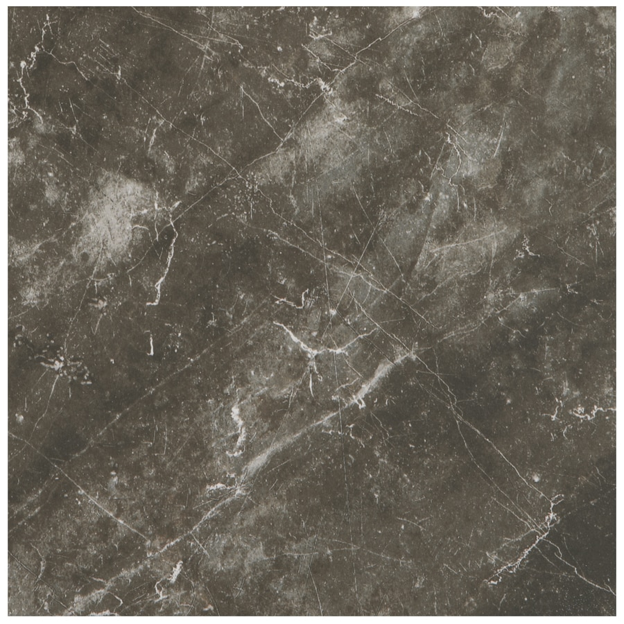 American Olean Bevalo 8-Pack Charcoal Porcelain Floor and Wall Tile (Common: 18-in x 18-in; Actual: 17.75-in x 17.75-in)