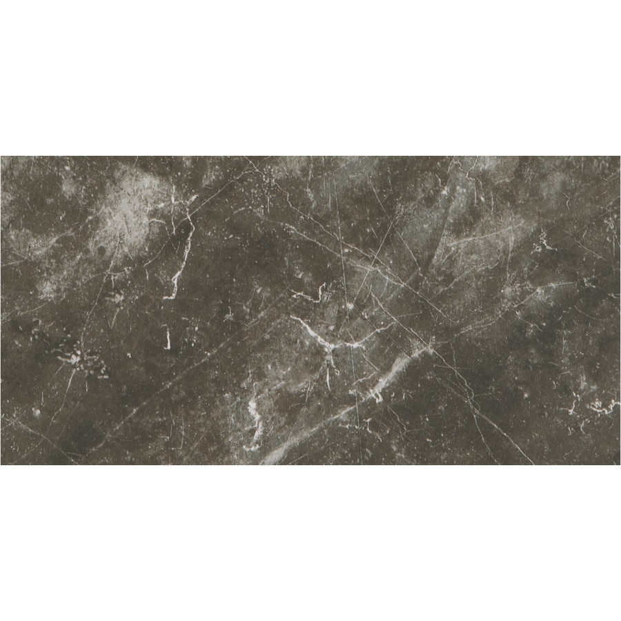 American Olean Bevalo 8-Pack Charcoal Porcelain Floor and Wall Tile (Common: 12-in x 24-in; Actual: 11.68-in x 23.62-in)