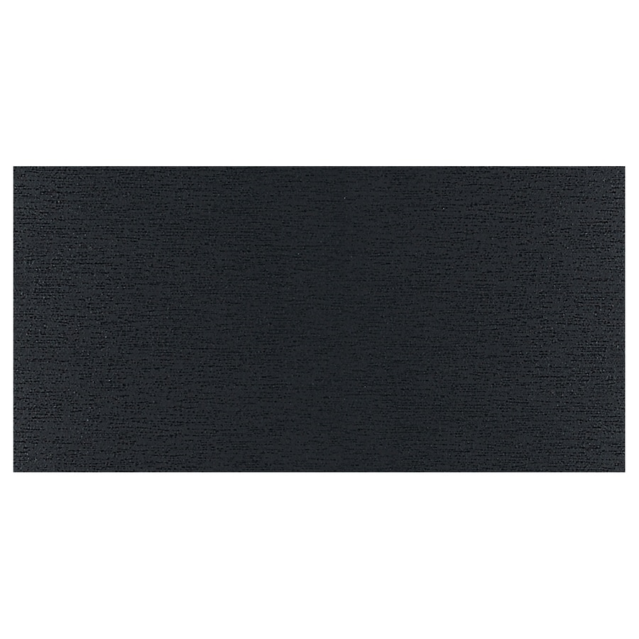 American Olean St Germain 8-Pack Noir Thru Body Porcelain Floor and Wall Tile (Common: 12-in x 24-in; Actual: 24-in x 12-in)