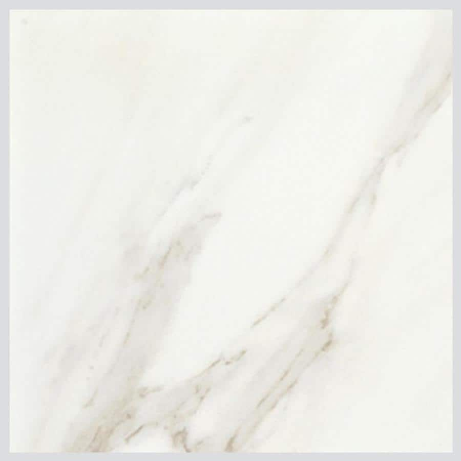 Bianco Porcelain Tile: American Olean Mirasol 4-Pack Bianco Carrara Porcelain