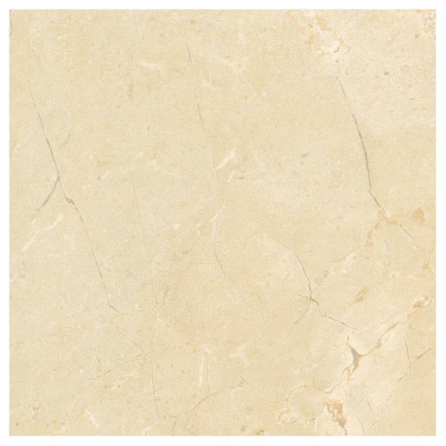 American Olean Mirasol 4-Pack Crema Laila Porcelain Floor and Wall Tile (Common: 24-in x 24-in; Actual: 23.44-in x 23.44-in)
