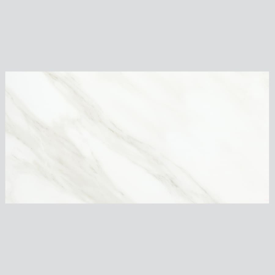 Shop american olean mirasol 8 pack carrara porcelain floor and wall american olean mirasol 8 pack carrara porcelain floor and wall tile common 24 dailygadgetfo Image collections