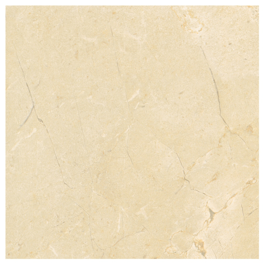 American Olean Mirasol 13-Pack Crema Laila Porcelain Floor and Wall Tile (Common: 12-in x 12-in; Actual: 11.5-in x 11.5-in)