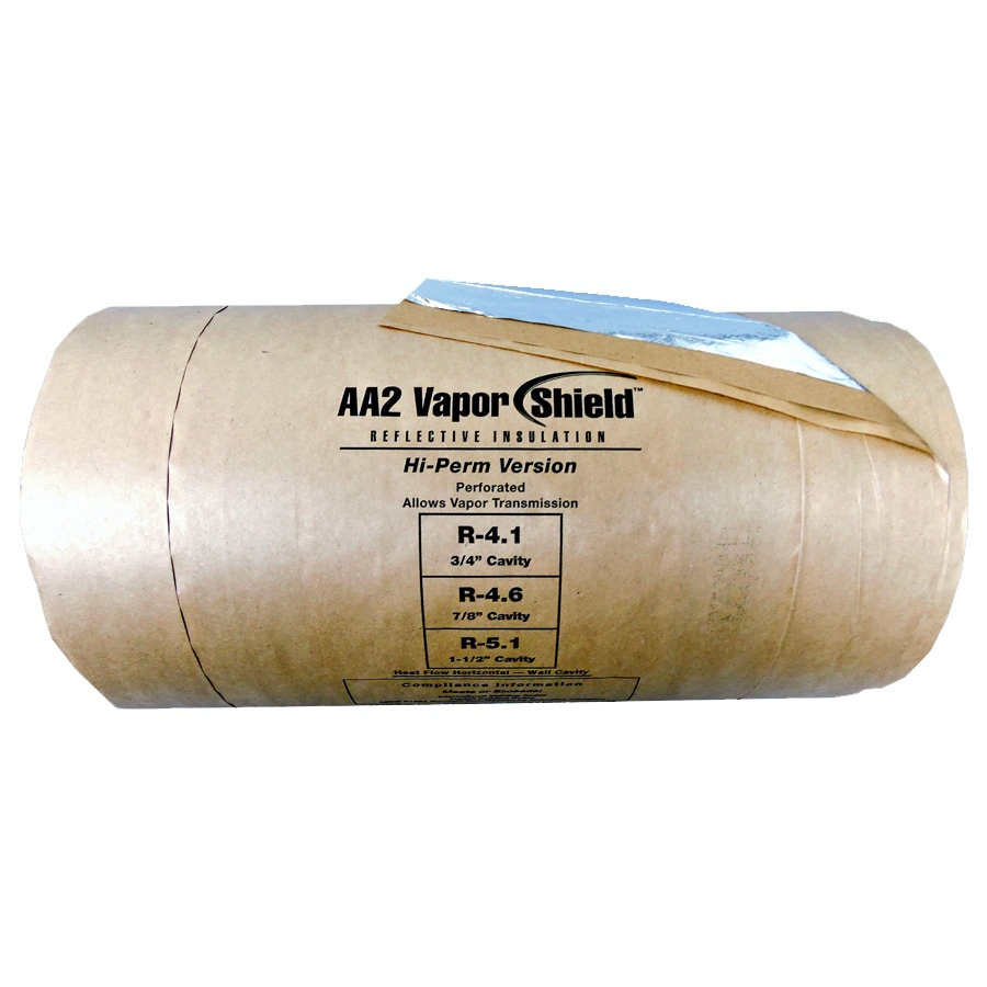 Fi-Foil Vapor Shield AA2 R 5.1 125-sq ft Single Faced Reflective Roll Insulation (24-in W x 62.5-ft L)