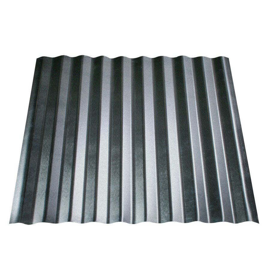 Shop Metal Sales 2 5 Quot Corrugated 29 Gauge 2 Ft X 12 Ft