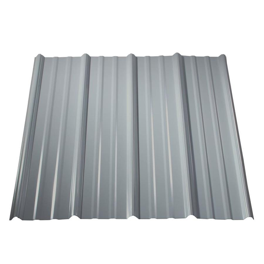 Metal Sales Classic Rib 3 Ft X 8 Ft Ribbed Metal Roof