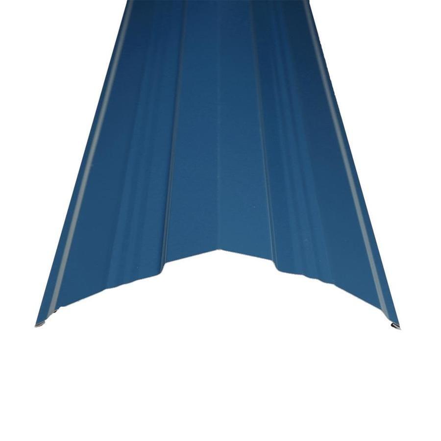 Metal Sales Universal Ridge 14 In X 122 In Steel Roof