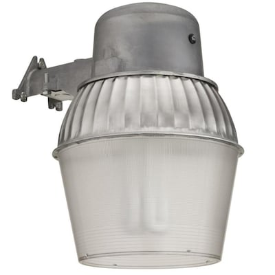 Gray Halogen Or Compact Fluorescent Area Light