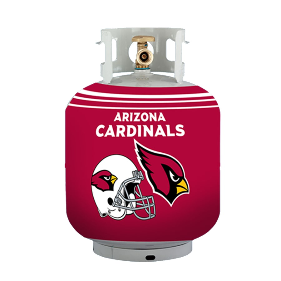 Bottle Skinz 16-in H x 34-in dia Red Polyester Arizona Cardinals Propane Tank Cover