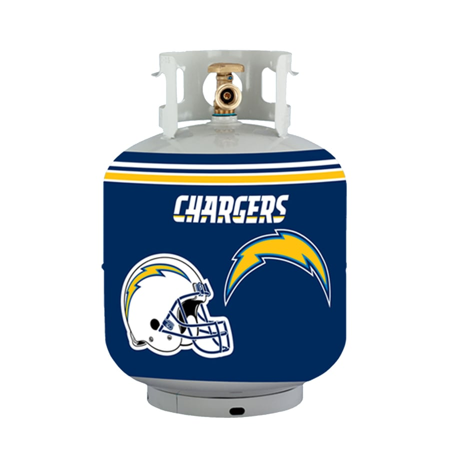 Bottle Skinz 16-in H x 34-in dia Blue Polyester San Diego Chargers Propane Tank Cover
