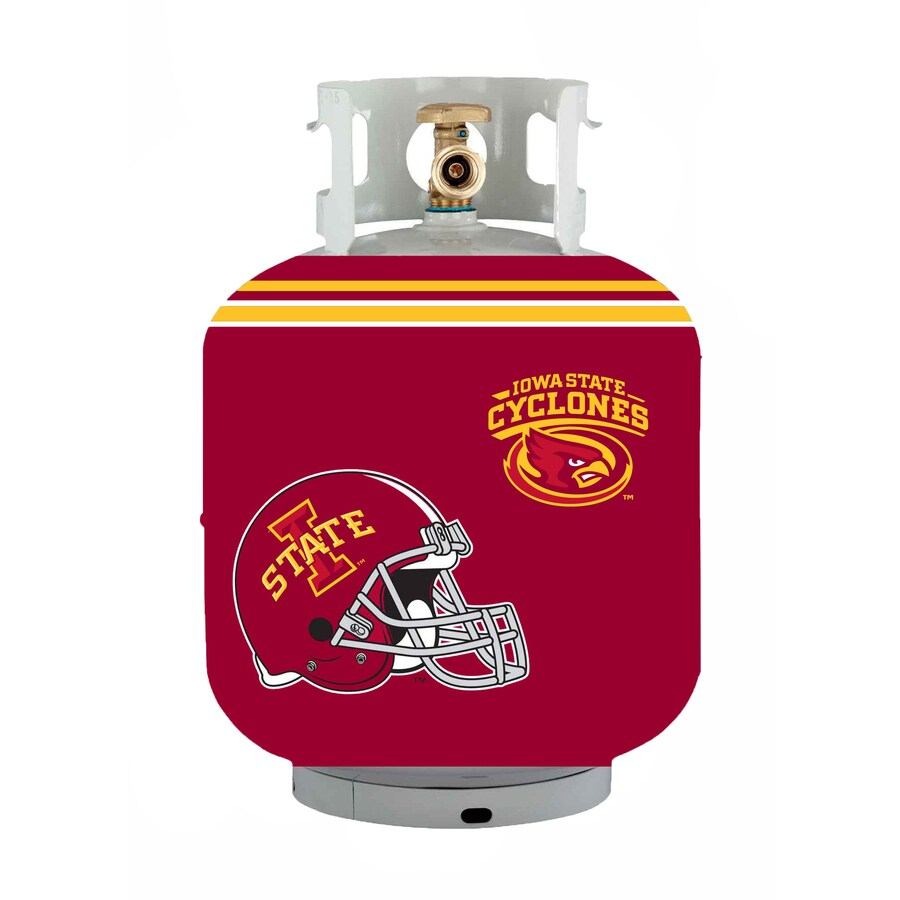 Bottle Skinz 16-in H x 34-in dia Red Polyester Iowa State Cyclones Propane Tank Cover