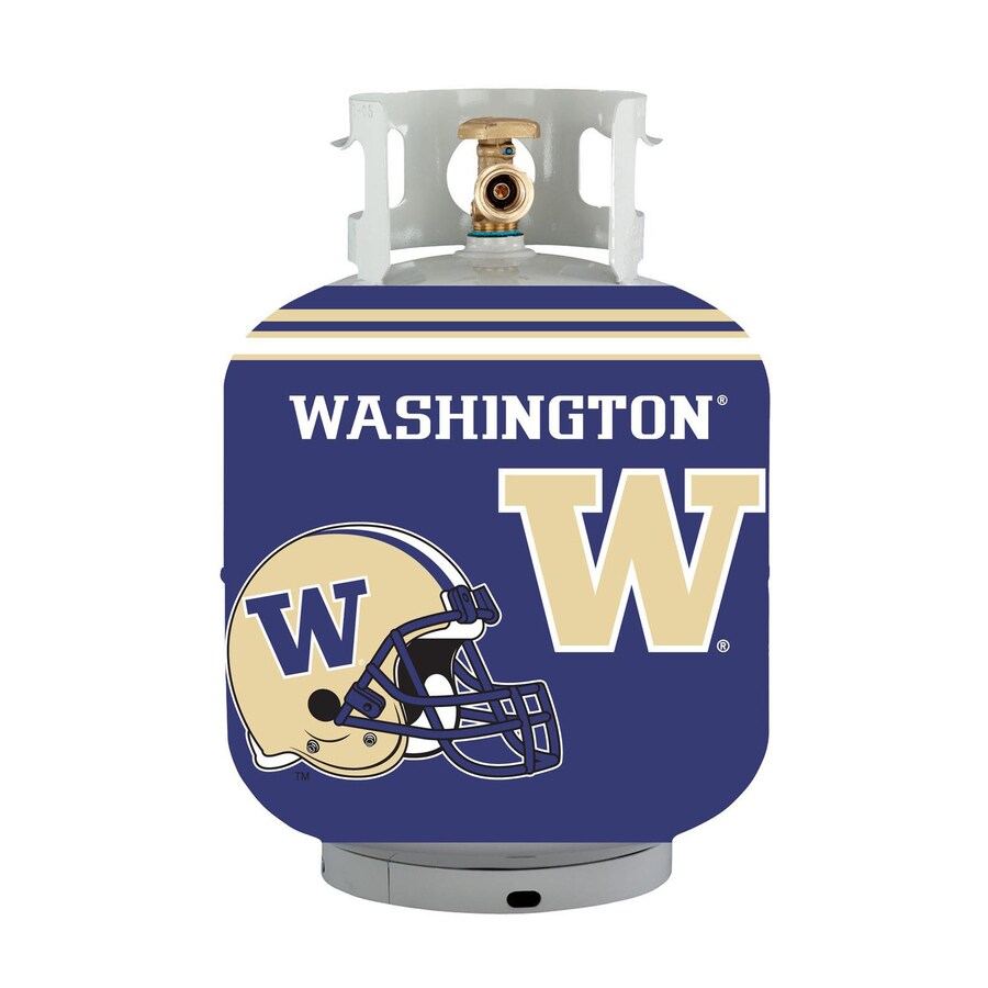 Bottle Skinz 16-in H x 34-in dia Purple Polyester Washington Cougars Propane Tank Cover