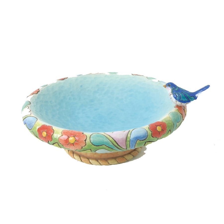 Merveilleux Jim Shore Tabletop Birdbath