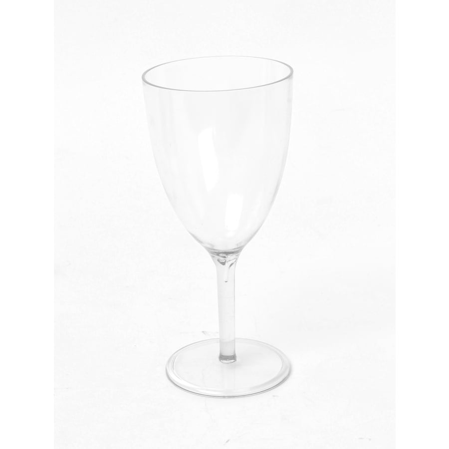 allen + roth Set of 4 Clear Wine Glass