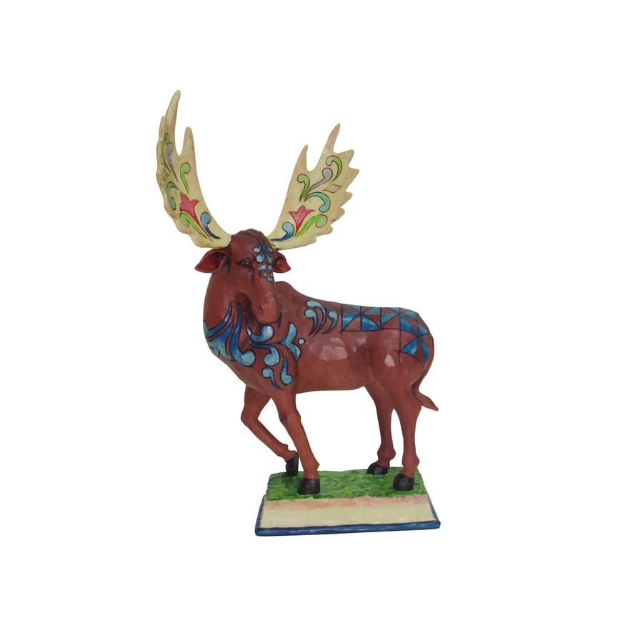 Jim Shore 15.14-in H Moose Garden Statue