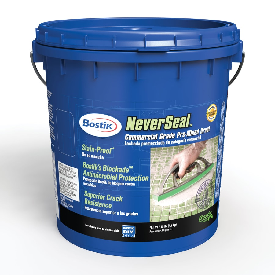 Bostik 18-lbs Alabaster Urethane Premixed Grout