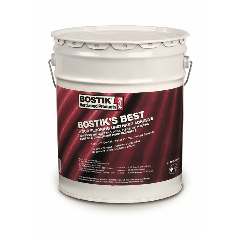 Bostik 5-Gallon Bostik's Best Wood Flooring Urethane Adhesive