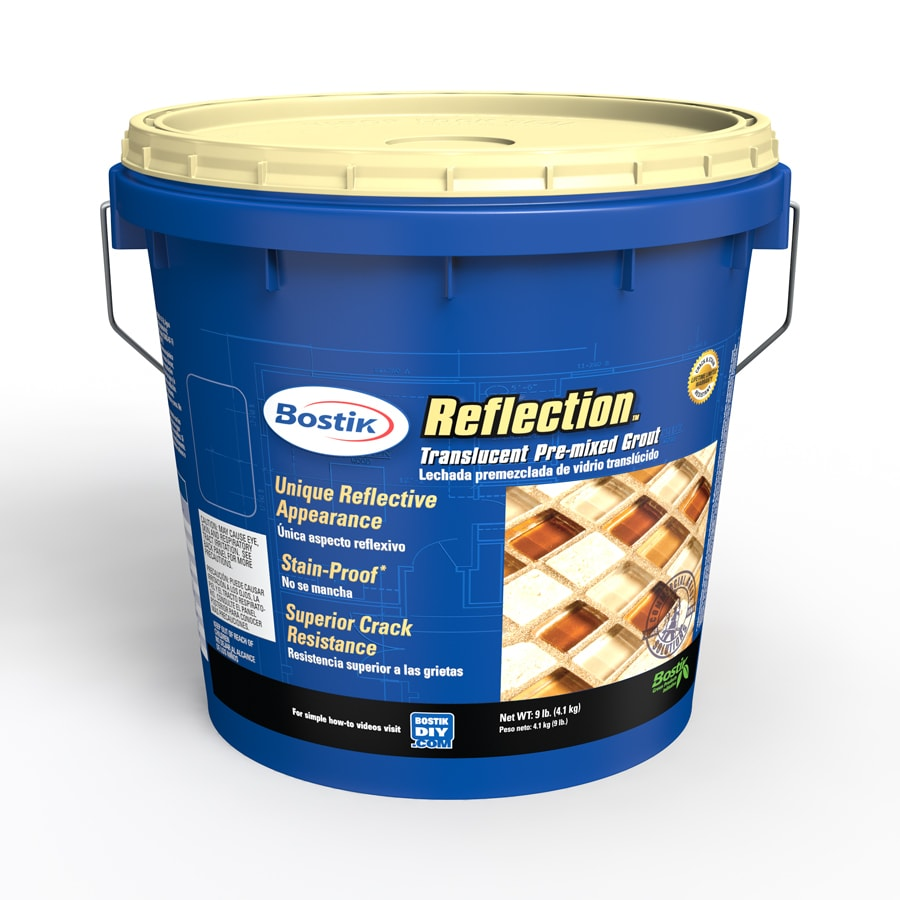 Bostik 9-lbs Copper Glass Urethane Premixed Grout