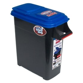 buddeez kingsford 32quart black charcoal caddy with standard snap lid