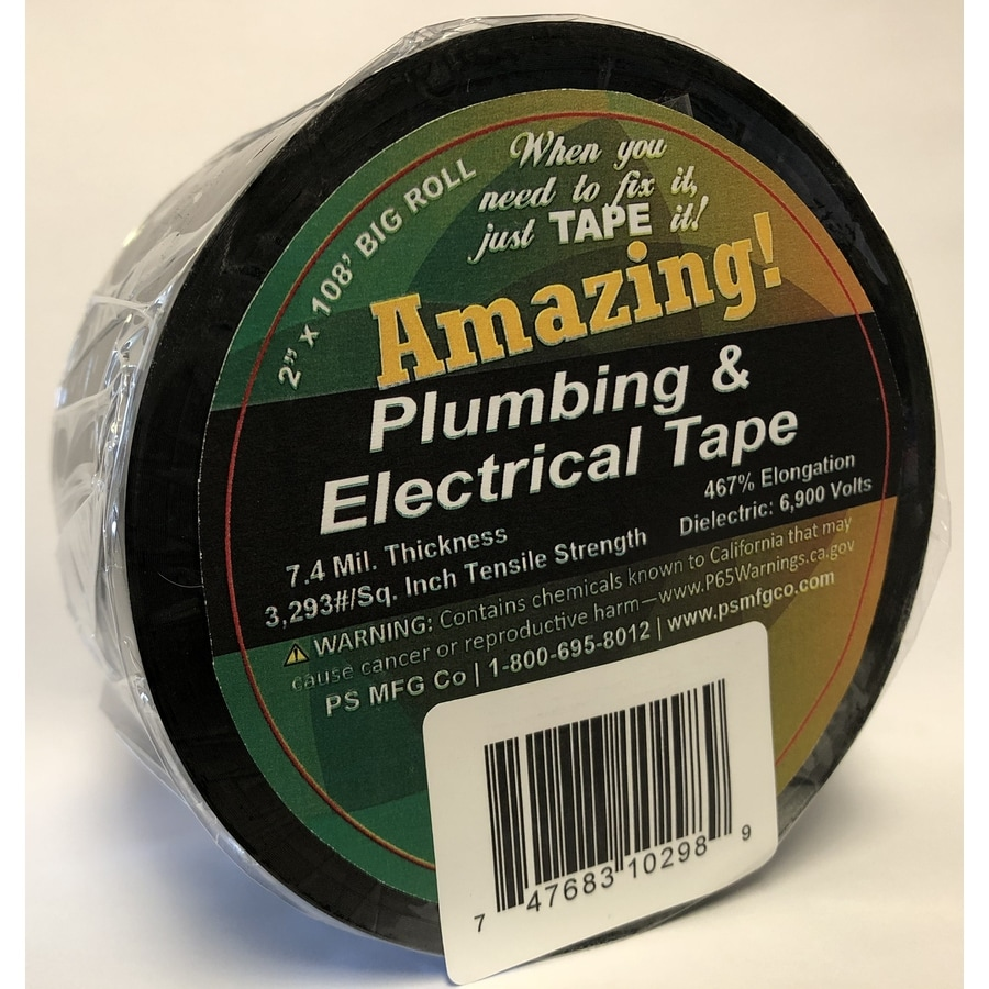 AMAZING! 2-in x 108-ft Plumber's Tape
