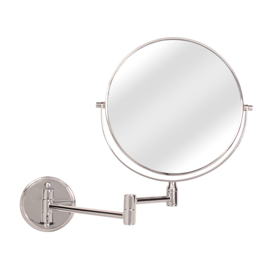 Wall Mount Magnifying Mirror shop makeup mirrors at lowes