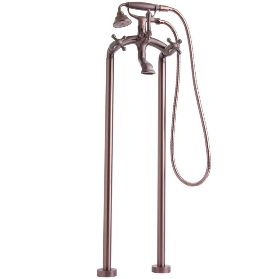 Shop Giagni Traditional Oil Rubbed Bronze 3 Handle Freestanding Bathtub Fauce