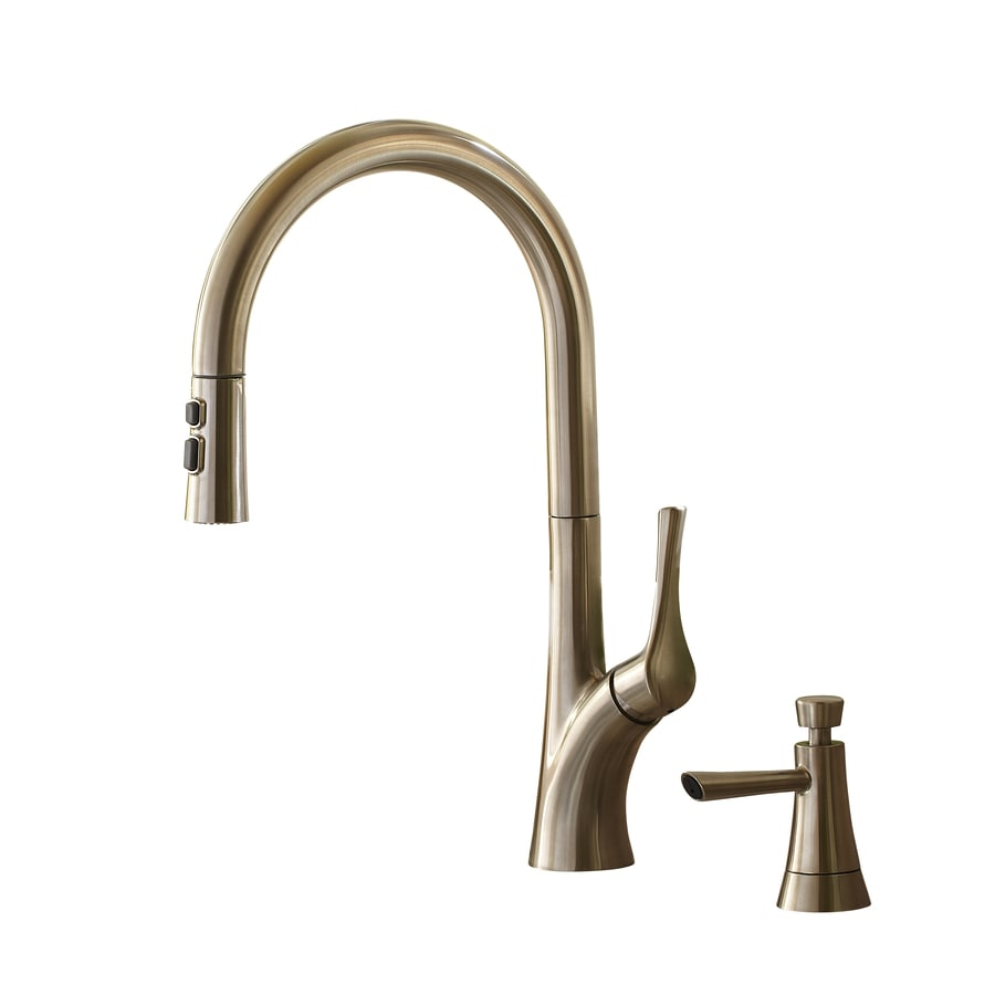 Incroyable Giagni Caterina Stainless Steel 1 Handle Pull Down Kitchen Faucet