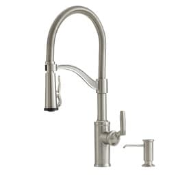 Stainless Steel Faucets Kitchen | Shop Kitchen Faucets At Lowes Com