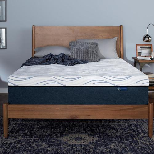 Serta Perfect Sleeper 12 In Queen Memory Foam Mattress In The Mattresses Department At Lowes Com