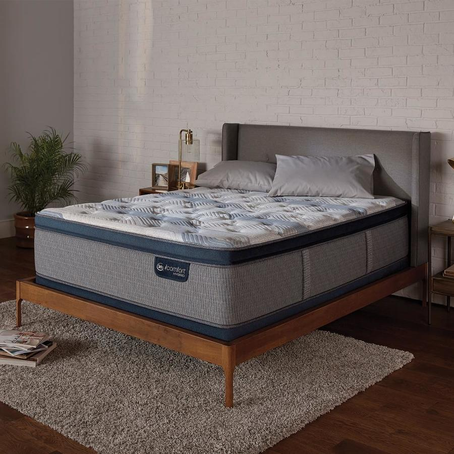 Serta Icomfort Hybrid Blue Fusion 300 King 14 25 In Soft Mattress