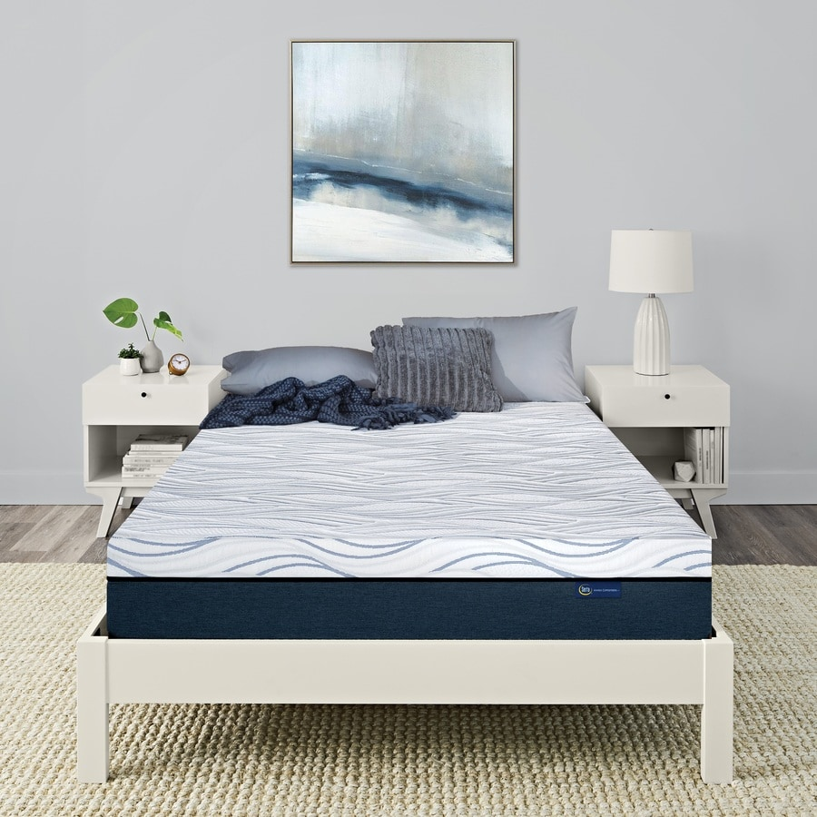 Serta Queen Hybrid 10-in Mattress at Lowes.com