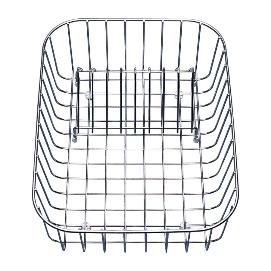 BLANCO 16-in W x 12.25-in L x 4.5-in H Metal Dish Rack