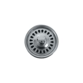 BLANCO 4.5 In Stainless Steel Fixed Post Kitchen Sink Strainer