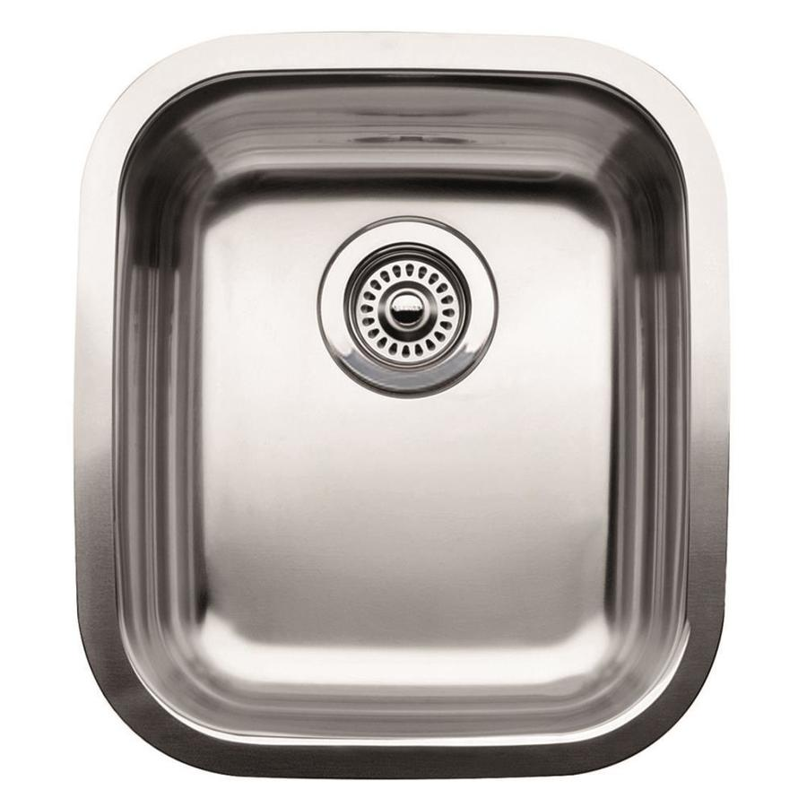 Good BLANCO Supreme Satin Polished Single Basin Stainless Steel Undermount  Residential Bar Sink