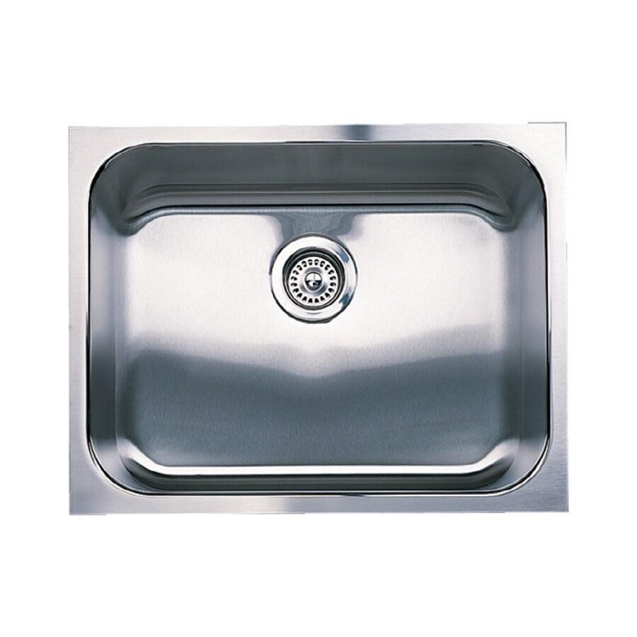 BLANCO Spex 18.0-in x 23.0-in Single-Basin Stainless Steel Undermount Residential Kitchen Sink