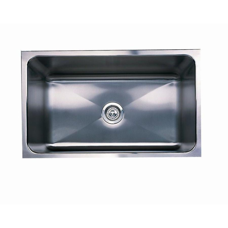 BLANCO Magnum 18.5-in x 30-in Satin Single-Basin Apron Front/Farmhouse Residential Kitchen Sink