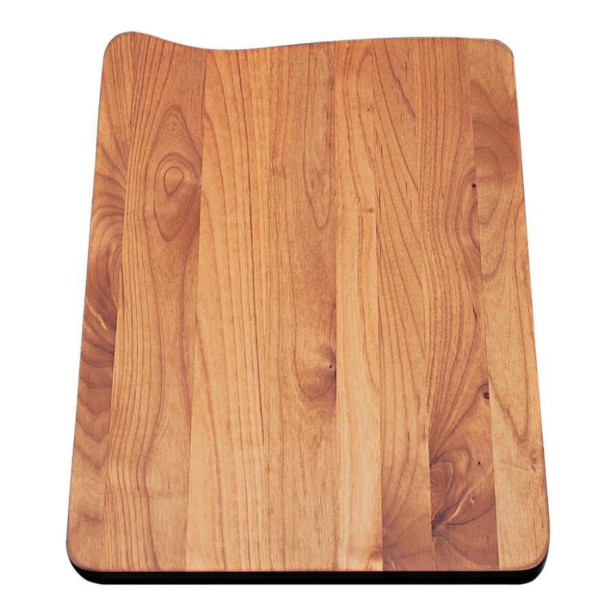 BLANCO 18-in L x 12-3/4-in W Wood Cutting Board
